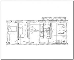 Appartamento Fiumicino paese euro 750,00