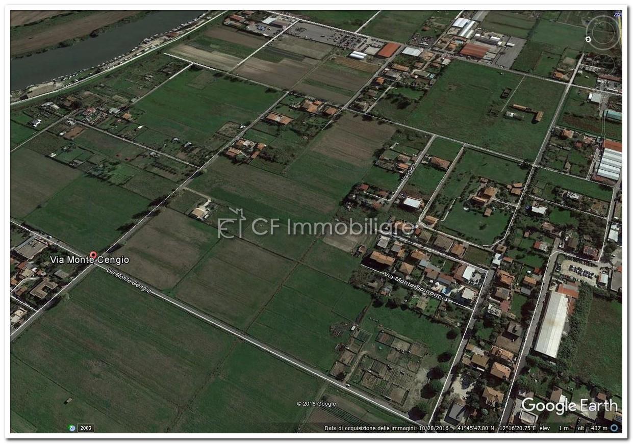 Fiumicino terreno agricolo  mq. 5.000